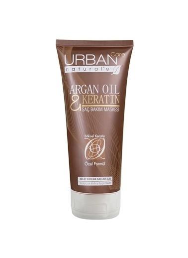 Urban Care Argan Oil & Keratin Hair Mask Besleyici ve Kırılma Karşıtı Saç Bakım Maskesi 200 Ml Renksiz